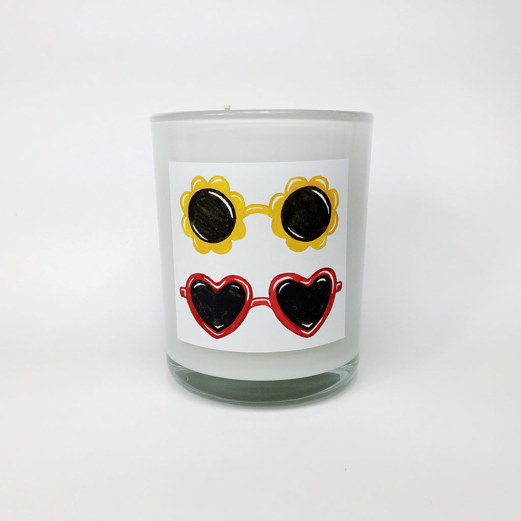 SUNNIES. Sea Salt & Ocean Breeze Coconut Wax Blend Candle.