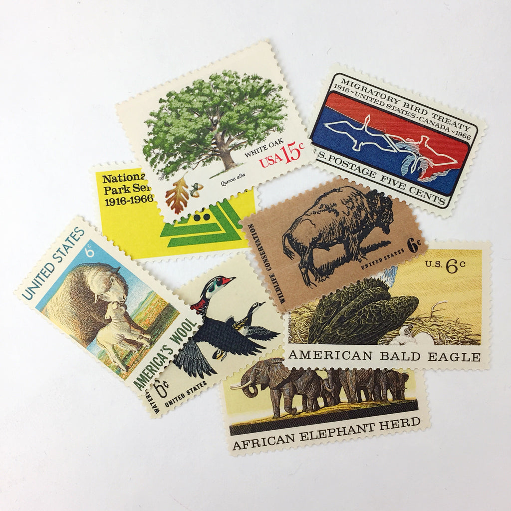 The Great Outdoors Vintage Postage