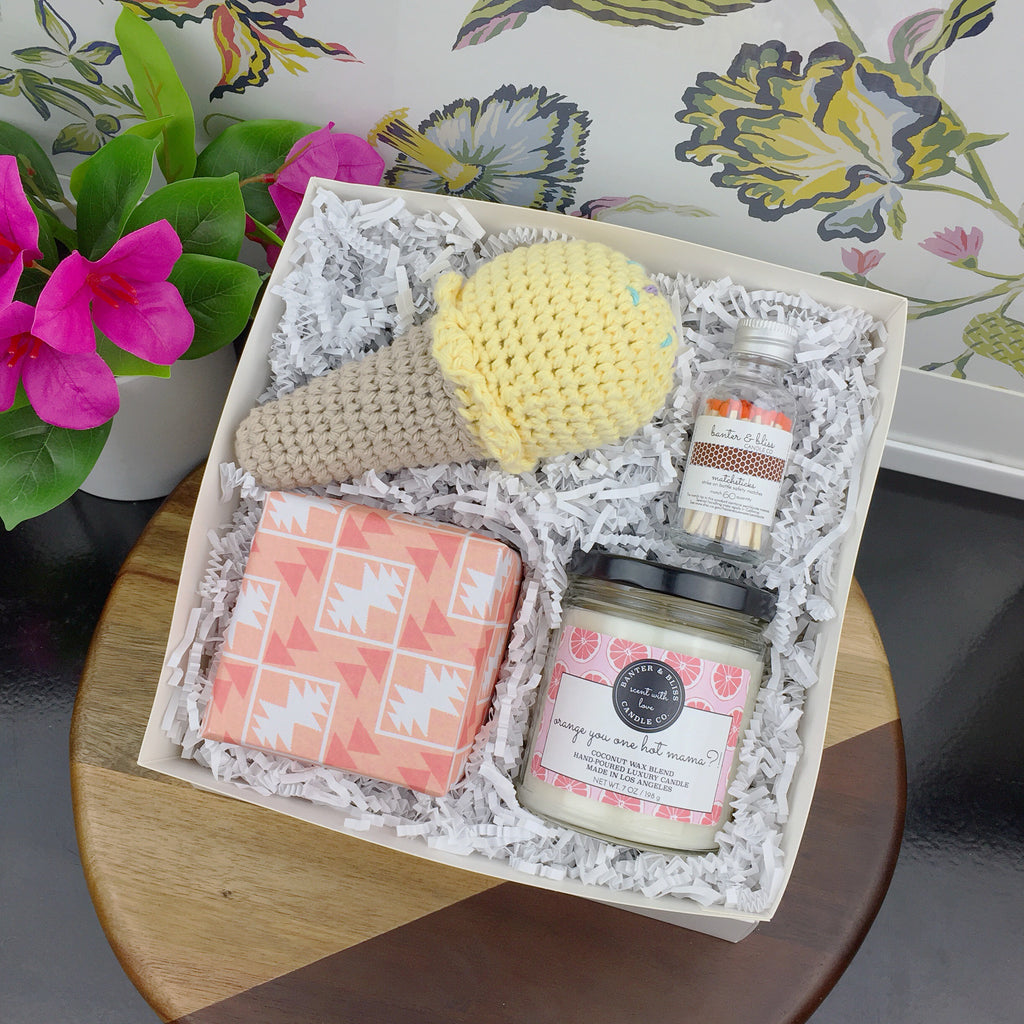 Banter & Bliss Candle Co. New Mom Gift Box