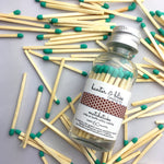 Banter & Bliss™ Match Bottle with Striker · 60 Emerald Green Safety Matches