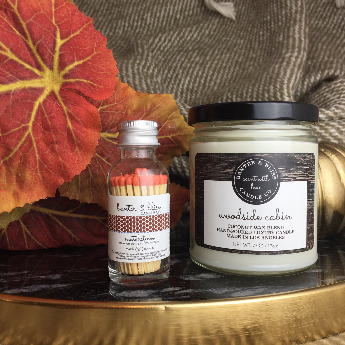 WOODSIDE CABIN  Premium Coconut Wax Candle