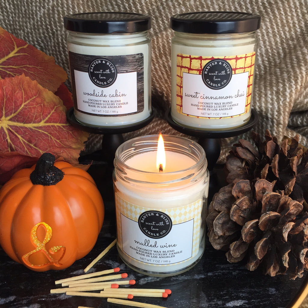 MULLED WINE. Premium Coconut Wax Candle.