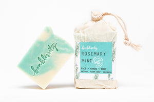 ROSEMARY MINT. Vegan Soap by Bonblissity
