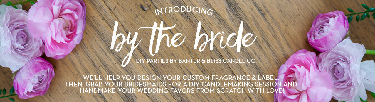 Banter & Bliss Color Changing Gender Reveal Candle