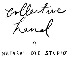 Collective Hand is a textile design studio specializing in natural dyes. The studio was born from a desire to create fabrics that celebrate ancient dyeing traditions while balancing the needs of consumers and the planet. We're known for our silk aromatherapy eye pillows and masks, which are dyed and sewn by hand.