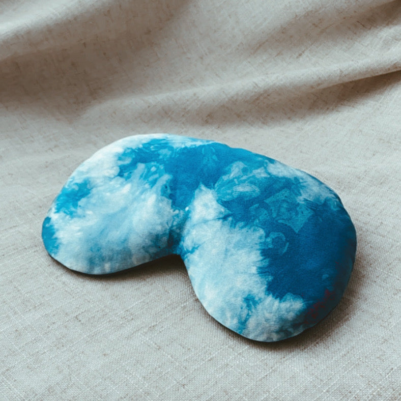 Face Pillow - Organic Indigo