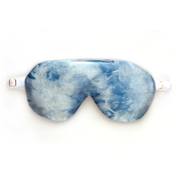 Indigo Silk Aromatherapy Sleep Mask
