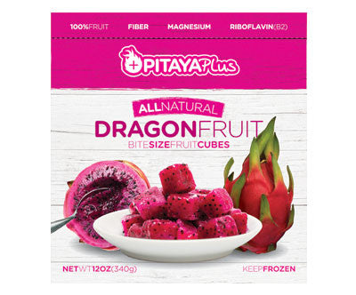 Pitaya Plus Dragon Fruit IQF Cubes