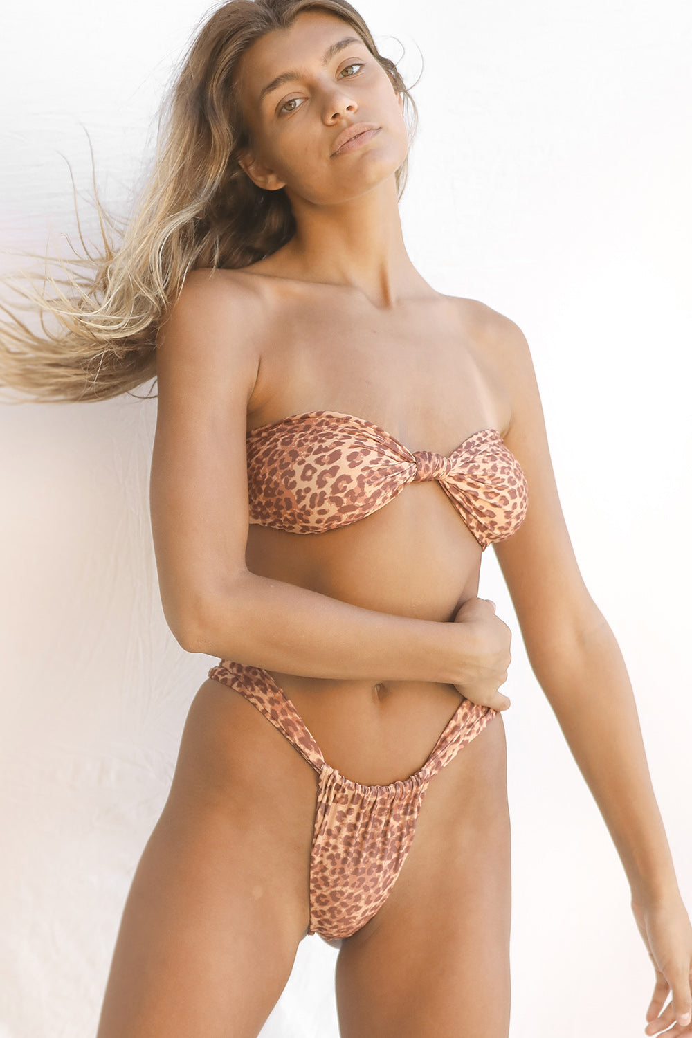Stone Fox Swim Lele Top in Baby Bengal
