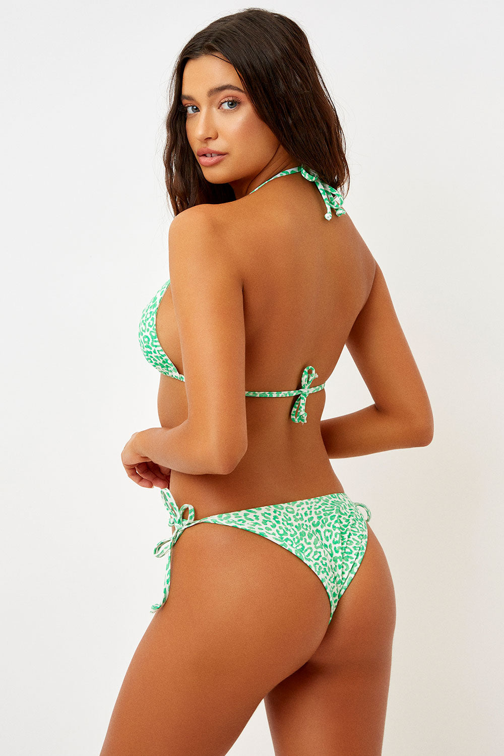 Frankie's Bikinis Leigh Bottom in Amazon
