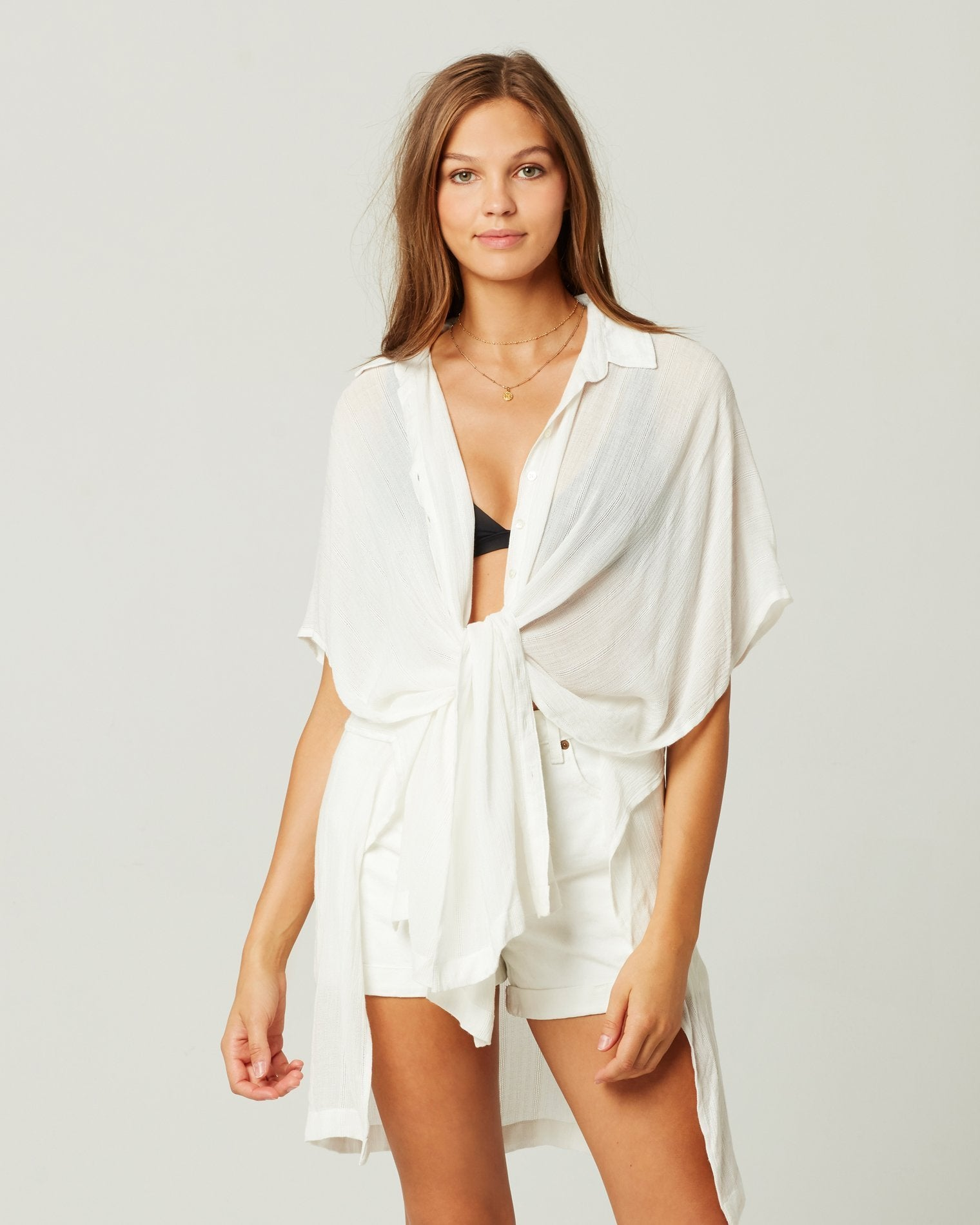 L*Space Anita Cover-Up in White