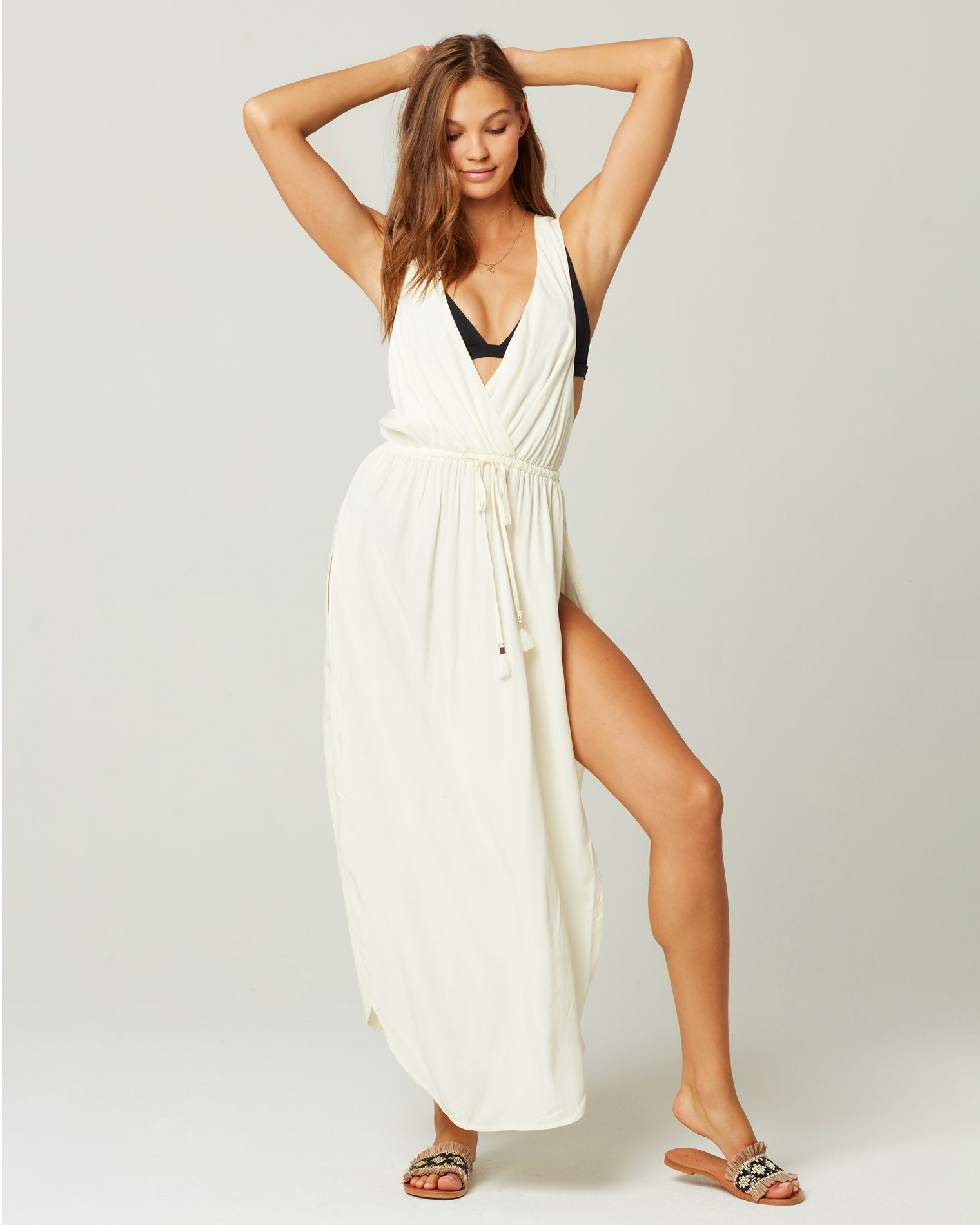 L*Space Kenzie Cover-Up in Cream