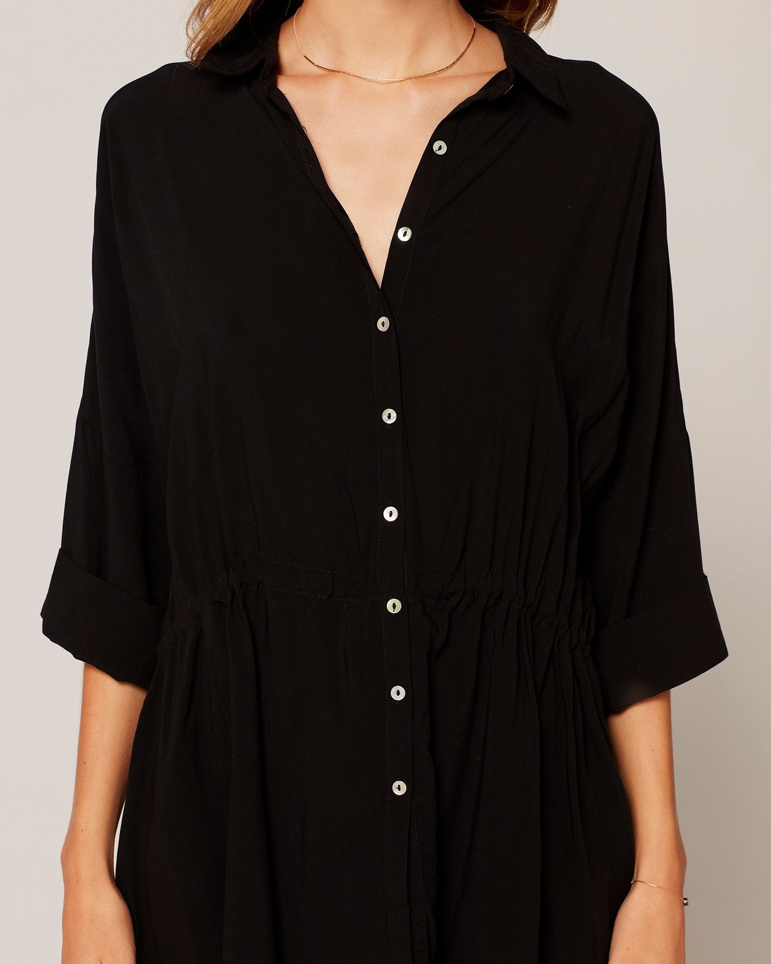 L*Space Pacifica Tunic in Black