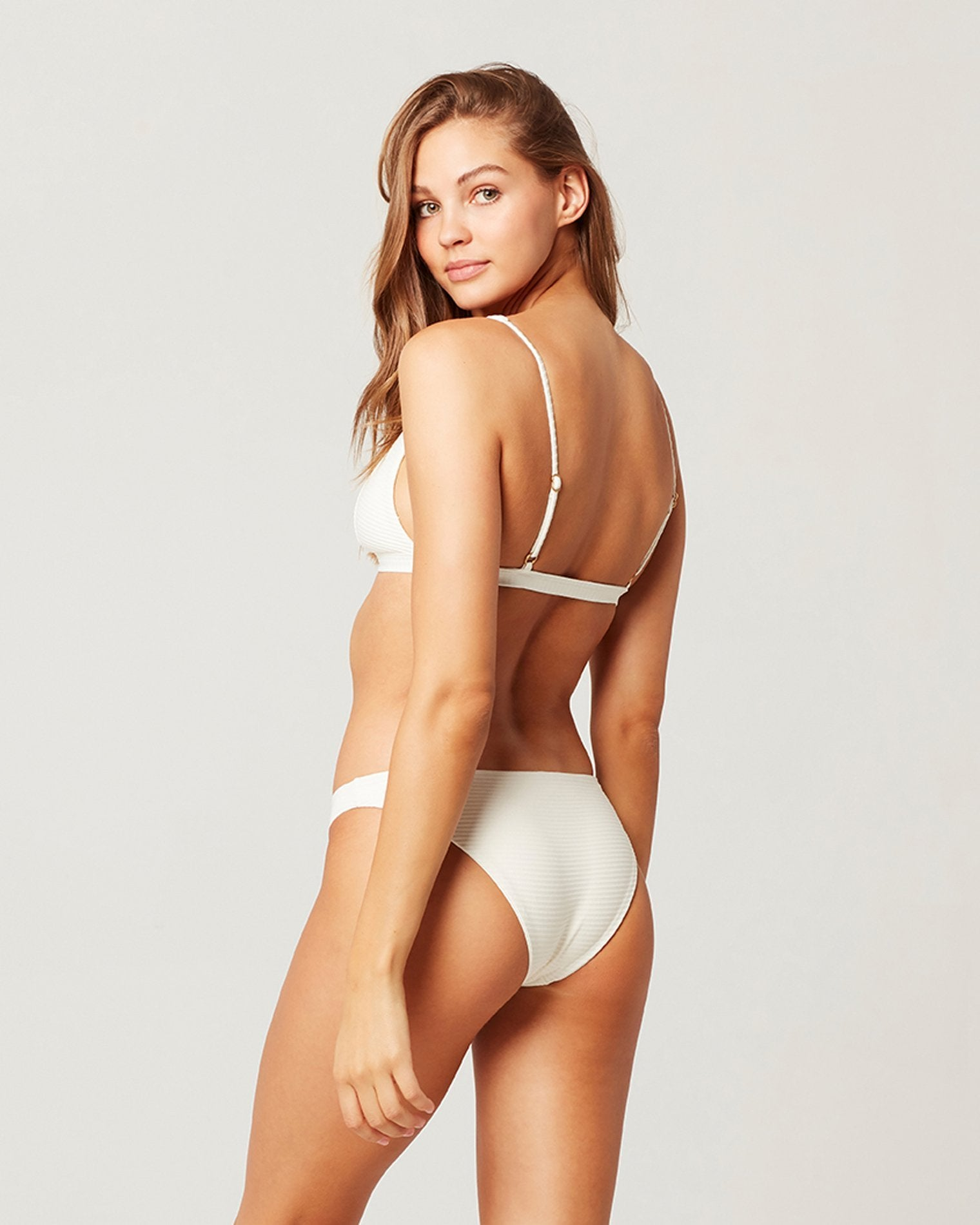 L* Space Eco Chic Repreve® Sol Bottom in Cream