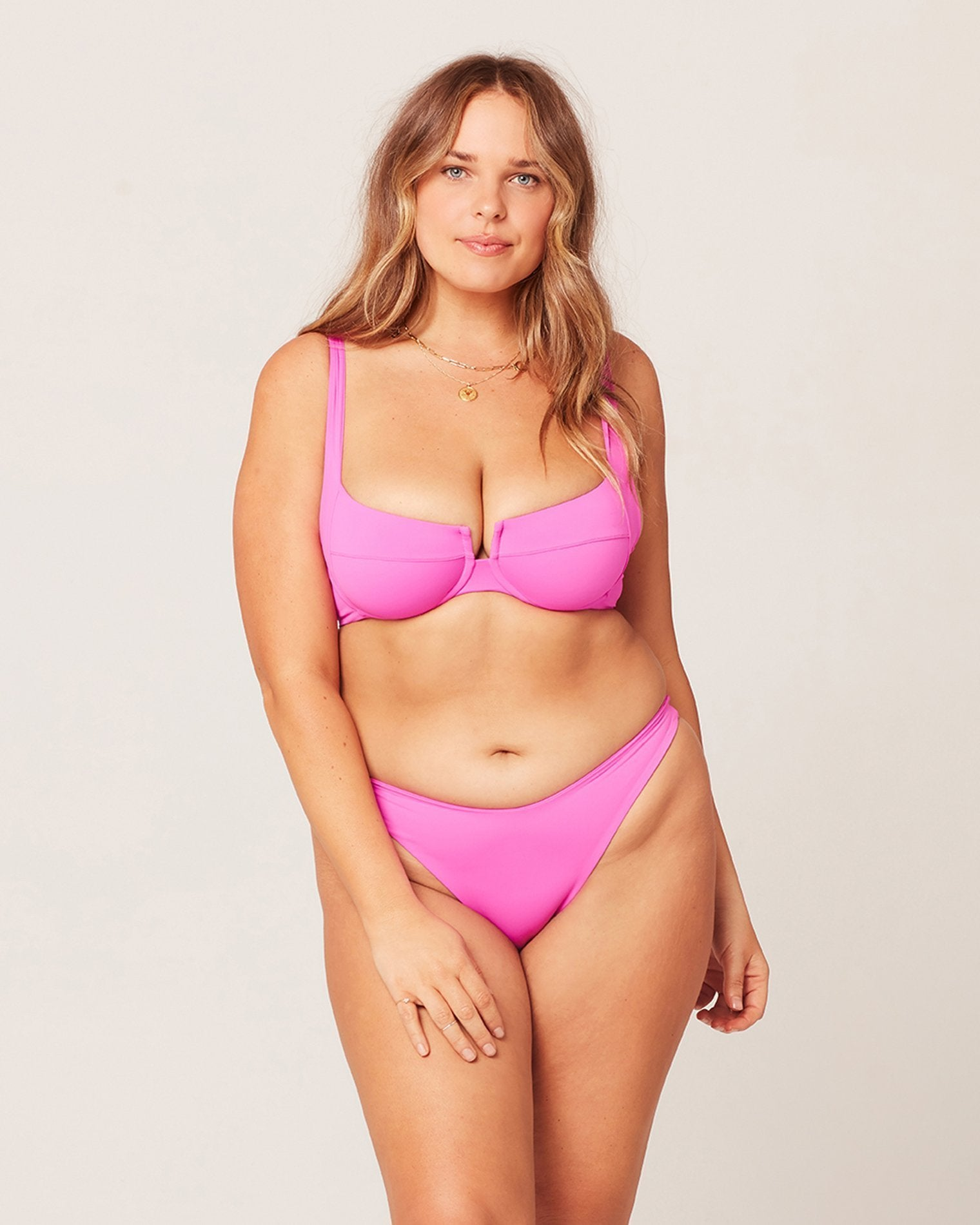 L*Space Camellia Top in Bright Fuchsia