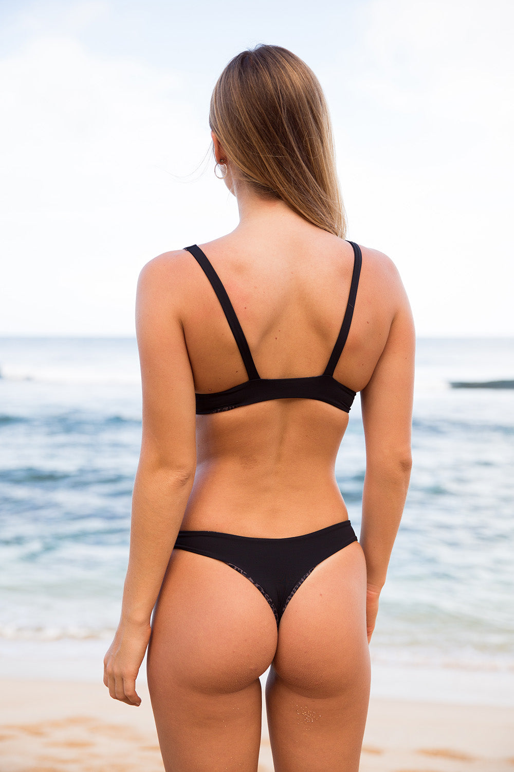 ACACIA Swimwear 2020 Ho'okipa Bottom in Onyx