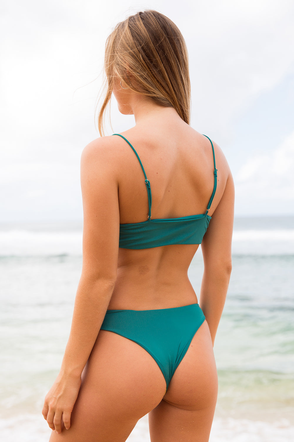 Farron Swim Frenchies Bottom in After Dark- Final Sale