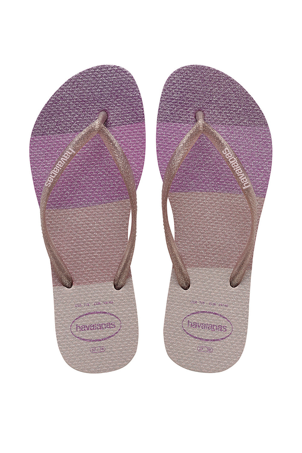 Havaianas Slim Palette in Candy Pink