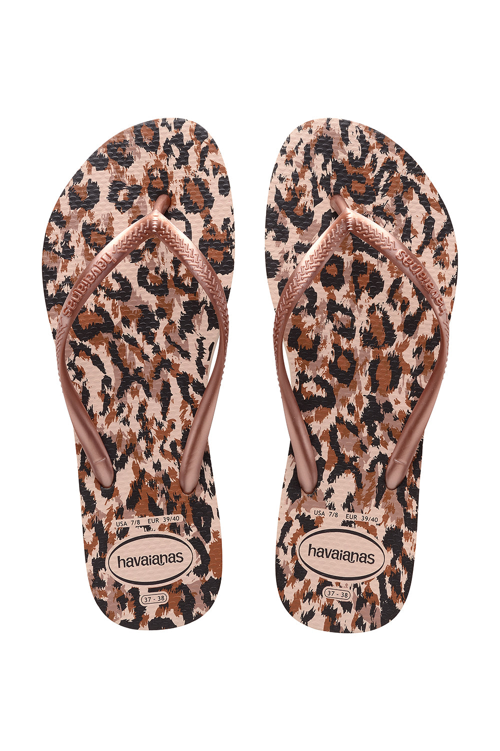 Havaianas Slim Animals in Ballet Rose