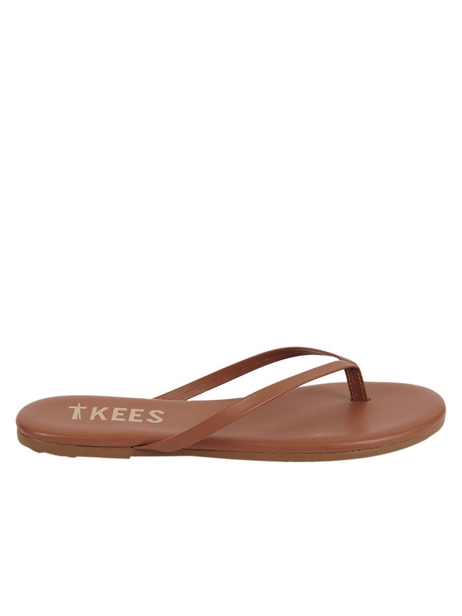 TKEES Foundations Flip Flops in Heat Wave- Size 8