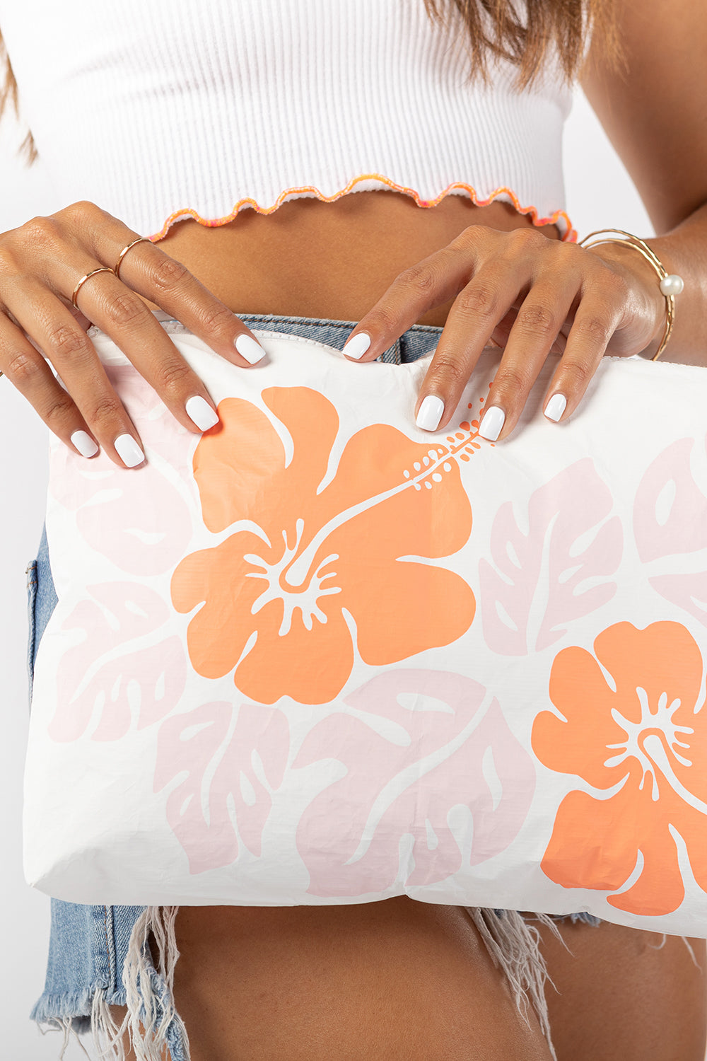 ALOHA Collection Mid Big Island Hibiscus Pouch