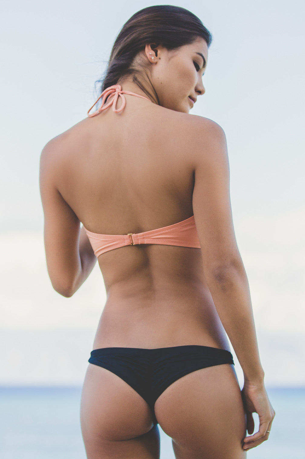 Greenlee Bandeau Top in Cantaloupe- Final Sale