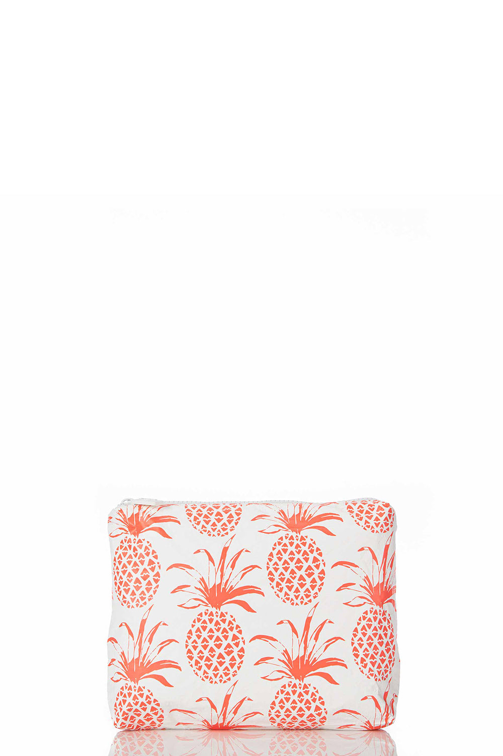 ALOHA Collection Small Pina Sola Pouch in Neon Coral