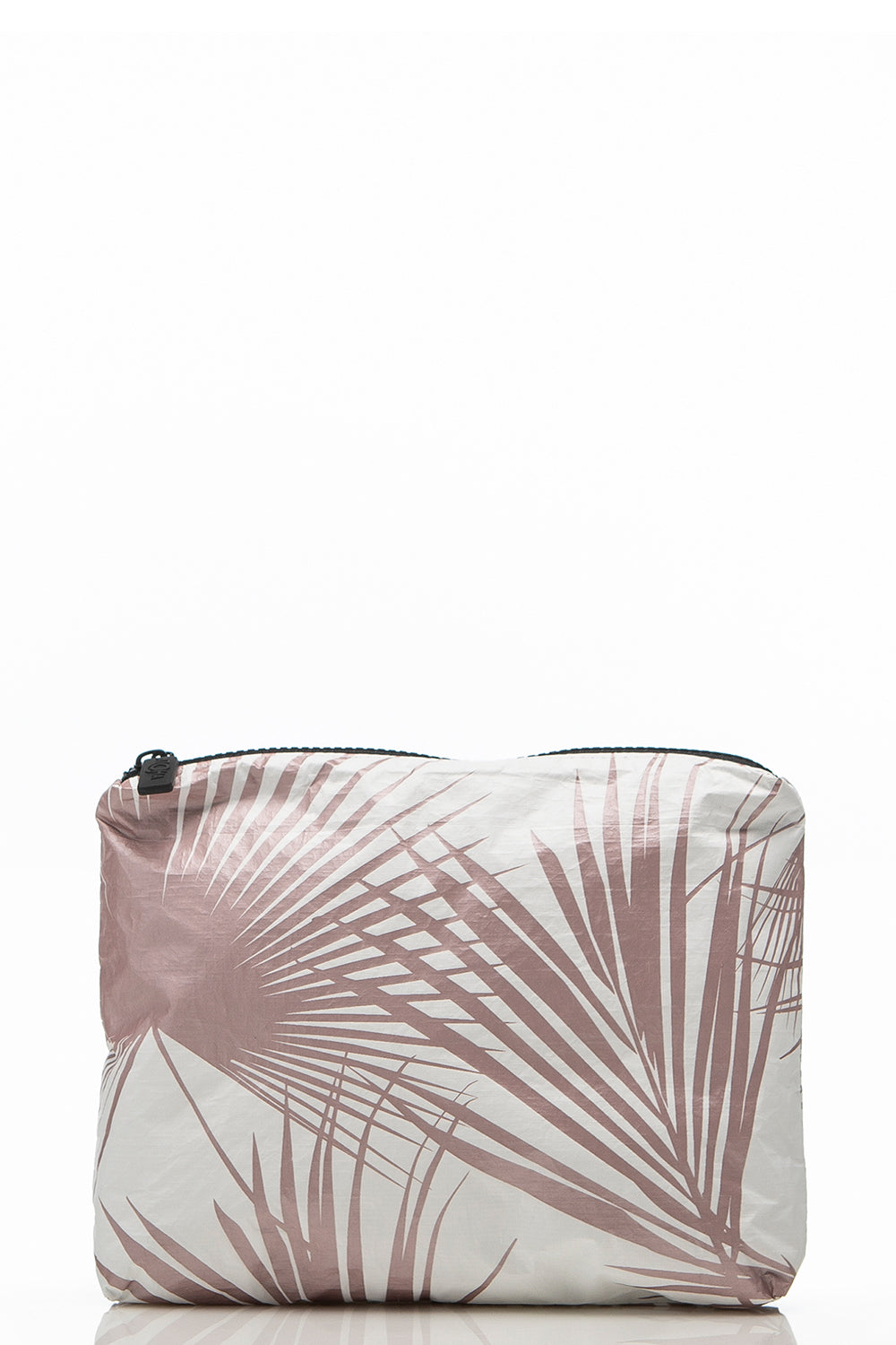 ALOHA Collection Small Day Palms Pouch in Rose Gold