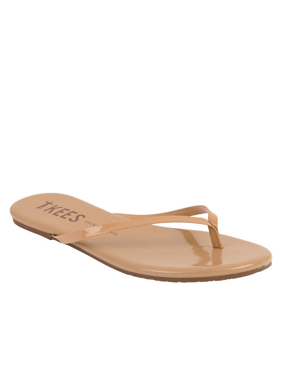 TKEES Sunscreens Flip Flops in Cocobutter SPF 15