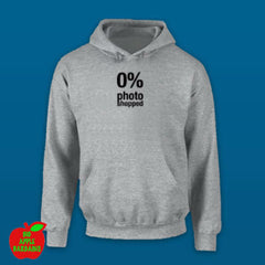 0% photoshopped Grey Hoodie ㋡ Big Apple Bargains