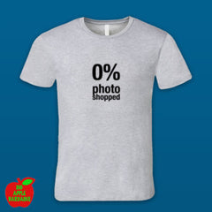 0% photoshopped Grey Male Tshirt ㋡ Big Apple Bargains