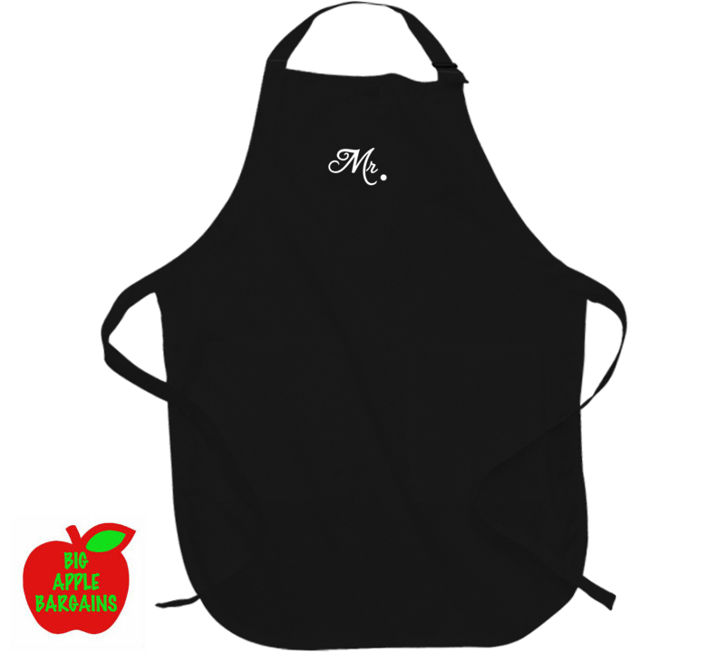 Mr. & Mrs. (Apron) ㋡ Big Apple Bargains - 2