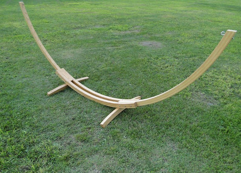Bamboo Hammock Stand ㋡ Big Apple Bargains