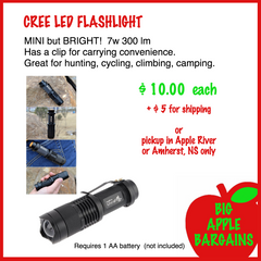 CREE LED Flashlight ㋡ Big Apple Bargains - 2