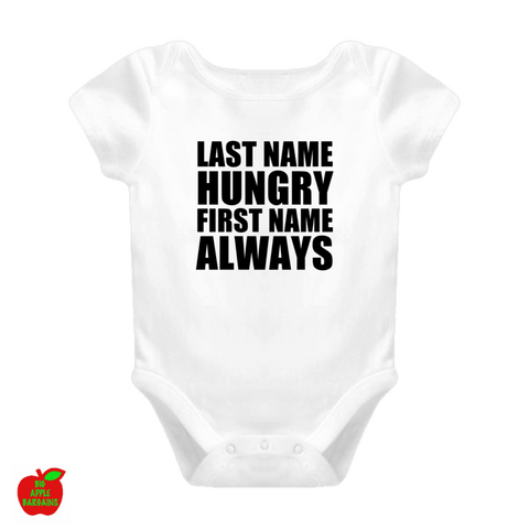 LAST NAME HUNGRY FIRST NAME ALWAYS ㋡ Big Apple Bargains - 1