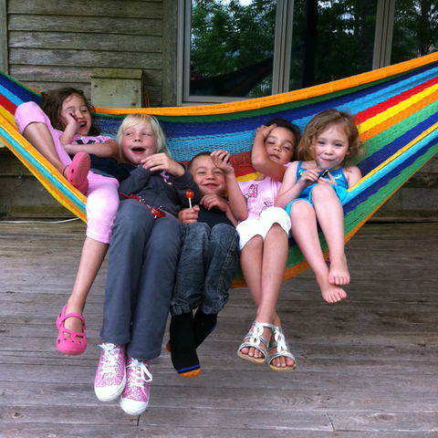 Mayan Hammock - XL (Family-sized) ㋡ Big Apple Bargains - 1