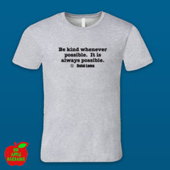 BE KIND Grey Male Tshirt ㋡ Big Apple Bargains
