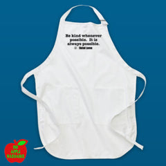 BE KIND White Apron ㋡ Big Apple Bargains