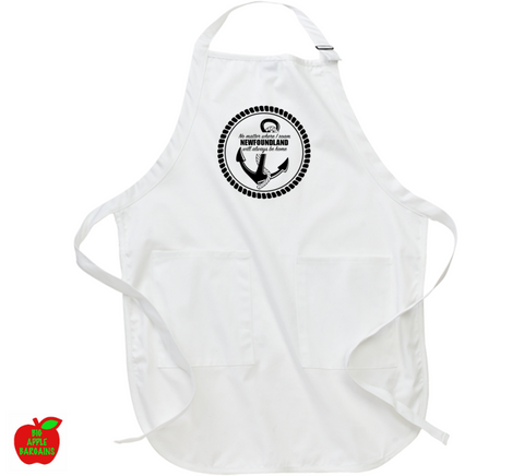 No matter where I roam NEWFOUNDLAND will always be home (Apron) ㋡ Big Apple Bargains