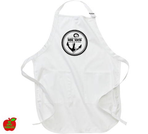 No matter where I roam NOVA SCOTIA will always be home (Apron) ㋡ Big Apple Bargains