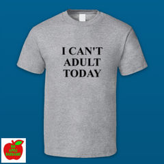 I CAN'T ADULT TODAY ㋡ Big Apple Bargains - 7