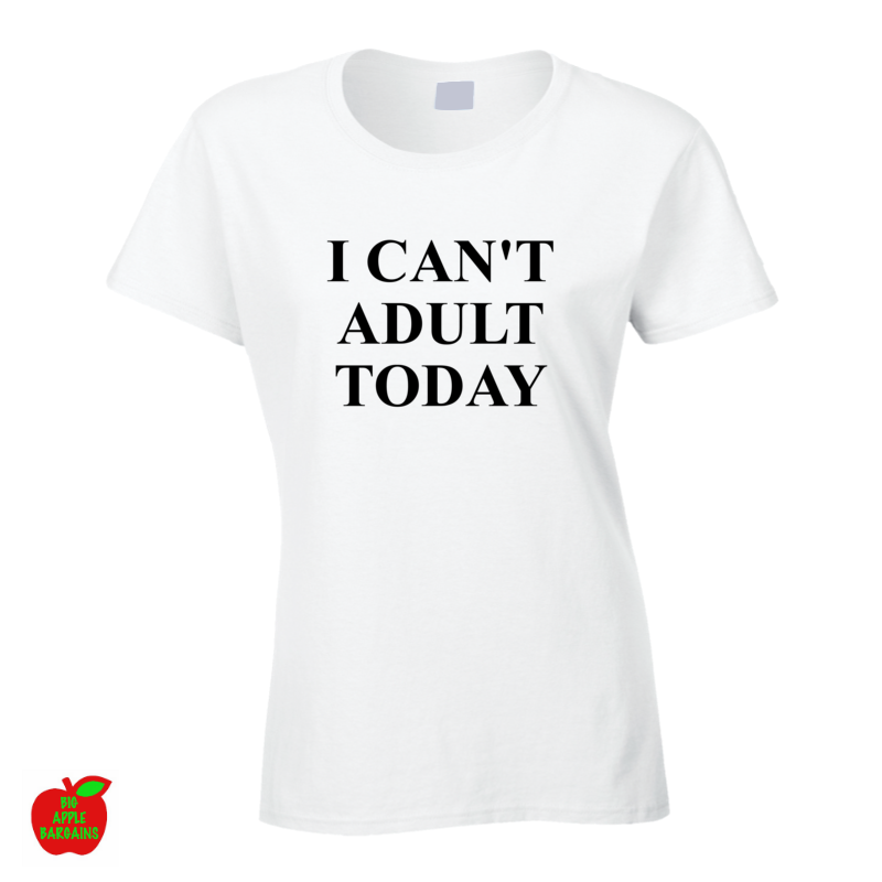 I CAN'T ADULT TODAY ㋡ Big Apple Bargains - 1
