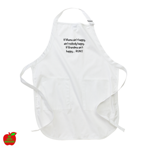 If Mama ain't happy ... (Apron) ㋡ Big Apple Bargains - 1