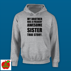MY BROTHER HAS A FREAKIN' AWESOME SISTER ㋡ Big Apple Bargains - 11