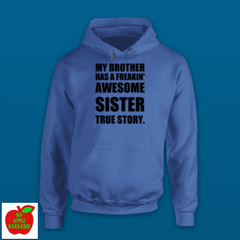 MY BROTHER HAS A FREAKIN' AWESOME SISTER ㋡ Big Apple Bargains - 12