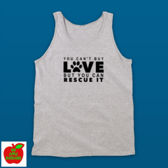 YOU CAN'T BUY LOVE BUT YOU CAN RESCUE IT (TANKTOP) ㋡ Big Apple Bargains - 2