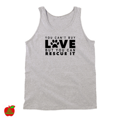 YOU CAN'T BUY LOVE BUT YOU CAN RESCUE IT (TANKTOP) ㋡ Big Apple Bargains - 1