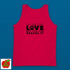YOU CAN'T BUY LOVE BUT YOU CAN RESCUE IT (TANKTOP) ㋡ Big Apple Bargains - 6