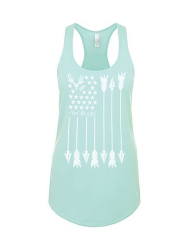 Hunt Like A Girl Tank Top