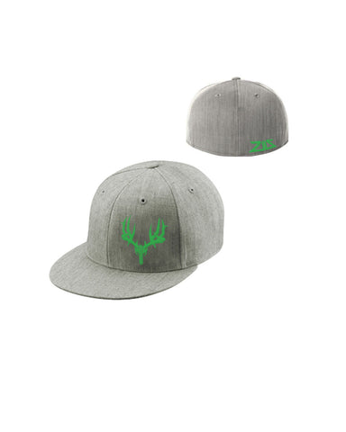 Icon Flatbill Gray/Green